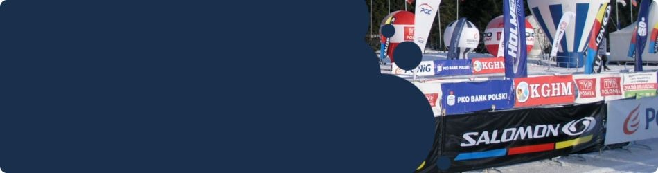 jedyne medium z profesjonalną reklamąDzięki serwisowi nabiegowkach.pl można dotrzeć z profesjonalną reklamą do osób aktywnie biegających na nartach. Taką możliwość daje tylko nasz portal !