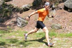 ćwiczenia imitacyjne - bieg z kijami