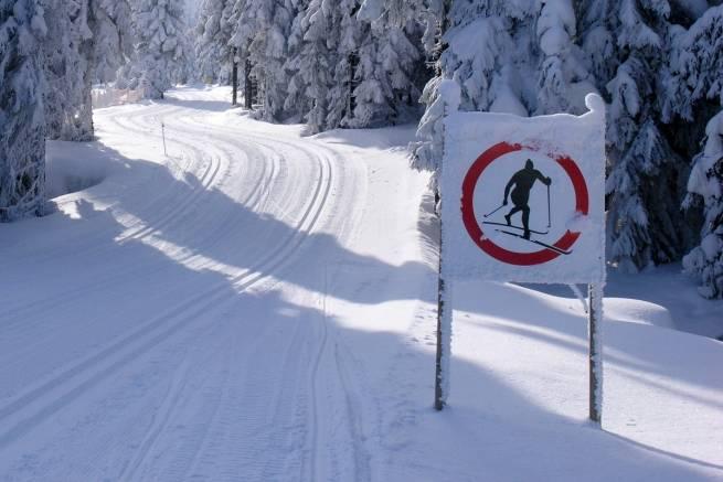Kodeks drogowy na biegówkach