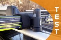 Test uchwytu do przewozu nart biegowych Thule SkiClick