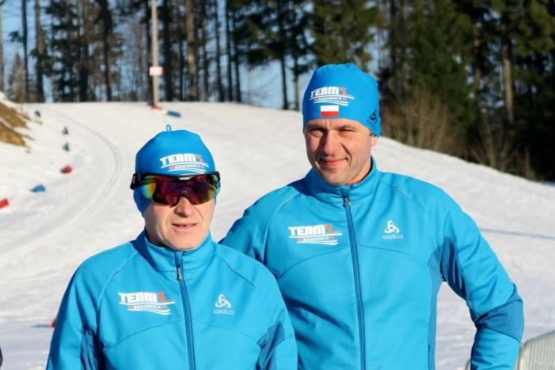 Piotr Michałek (z lewej) i Grzegorz Legierski