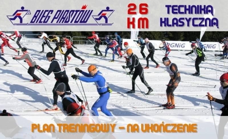 Plan treningowy do Biegu Piastów 26 km techniką klasyczną (na ukończenie)