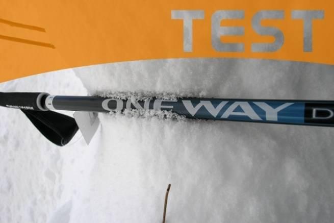 Kije do narciarstwa biegowego One Way Diamond 600 - TEST