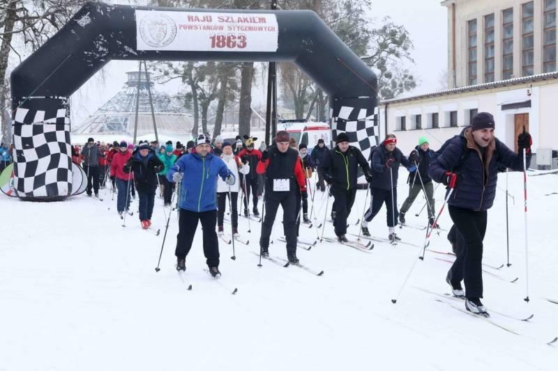 Uczcij rocznicę Powstania Styczniowego na biegówkach i śladówkach