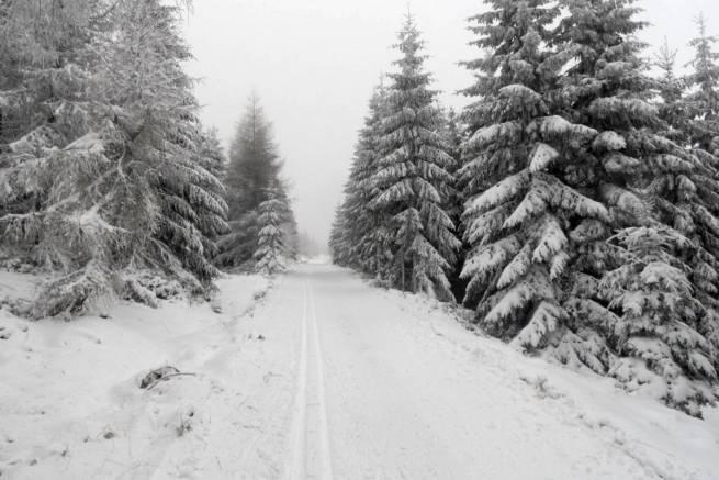 Takie warunki panowały w piątek 12 grudnia, później było już gorzej