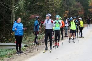 Sportowcy z teamu nabiegowkach.pl przeszli Sprawdzian Kompetencji Narciarskich