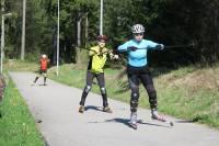 Od jakiej techniki zaczynać naukę biegania na nartorolkach