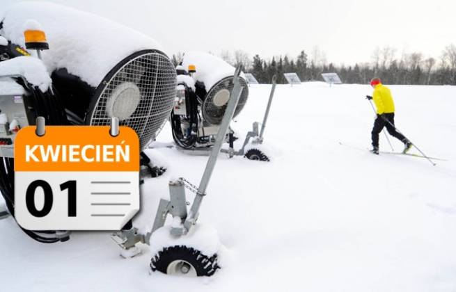 Prima Aprilis - nie będzie armatek śnieżnych w Jakuszycach