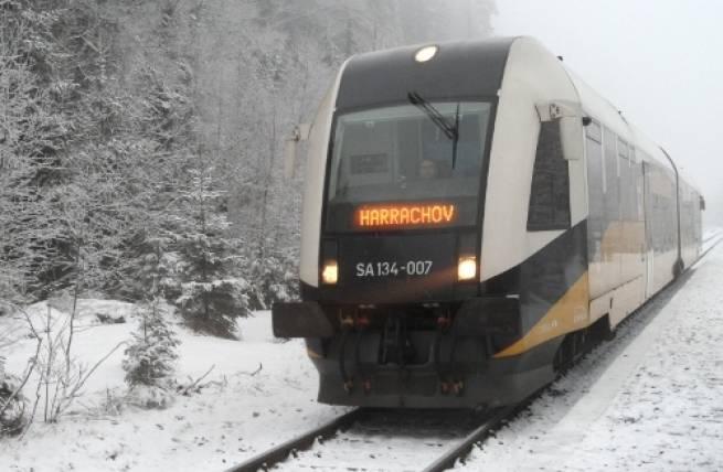 Pociągiem do Czech, na biegówkach do Polski