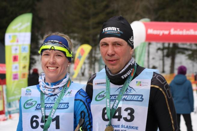 Kasia Witek i Janek Łacek zwyciężyli w biegu na 13 km III edycji SGB Ultrabiel