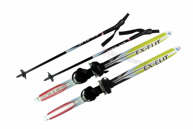 SkiGo Ex-Elit - czyli prawdziwe biegówki dla najmłodszych narciarzy
