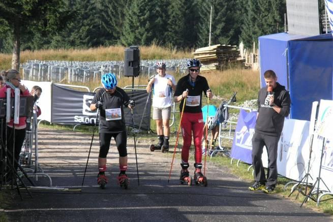 Radek Szwade, pierwszy z prawej, zwycięzca zawodów