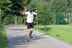 Nartorolki - kurs techniki łyżwowej - jednokrok