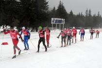 Woda i czerwień w Jakuszycach - Enervit Classic 10 km
