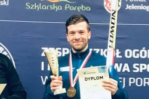 Kamil Kaczyński Mistrzem Polski Amatorów w Biathlonie