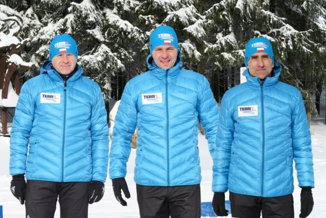 Od lewej: Piotr Michałek, Grzegorz Legierski, Władysław Olszowski