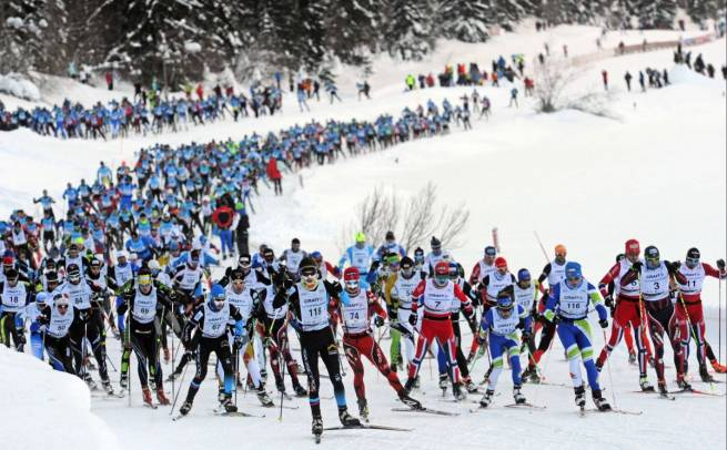 La Transjurasienn to jeden z etapów FIS Worldloppet Cup