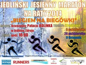 Wybiegaj sobie biegówki w Jedlinie-Zdroju!