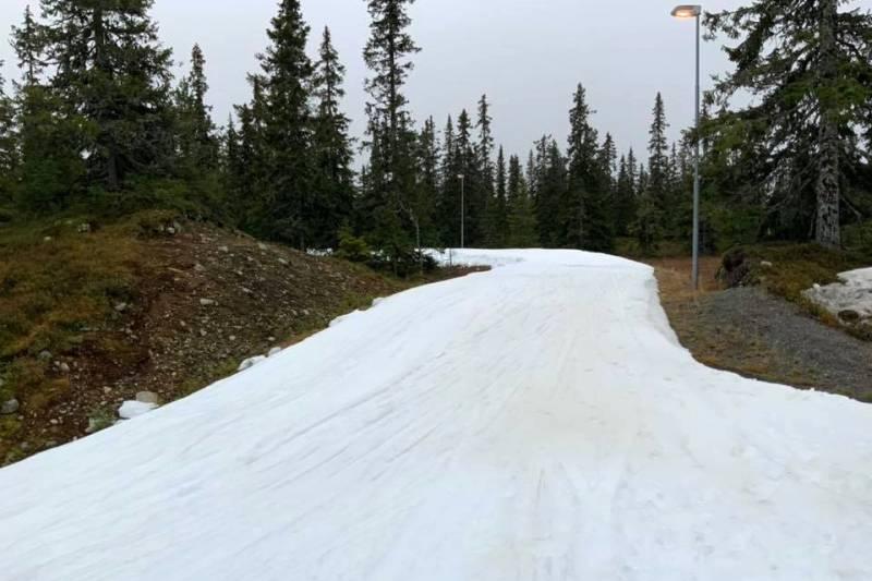 W norweskim Sjusjøen biegają już od początku października