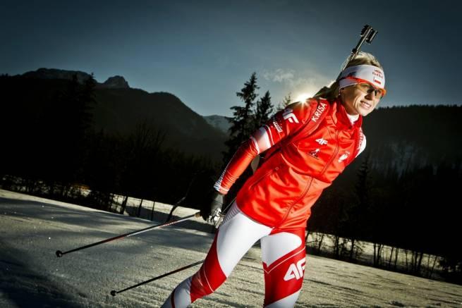 Krystyna Guzik - wicemistrzyni świata w biathlonie