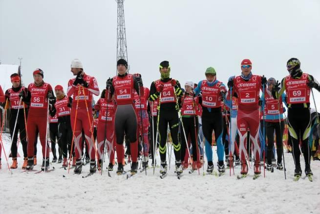 Lód i czerwień w Jakuszycach - Enervit Classic 5 km