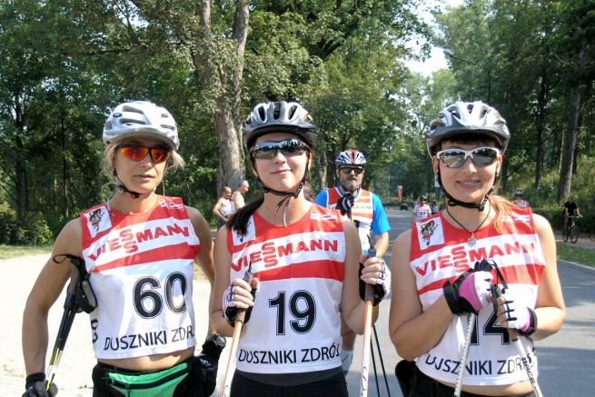 Aż 11 zawodników teamu nabiegowkach.pl startowało w dusznickim uphillu na nartorolkach