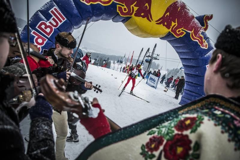 Jan Łacek i Dariusz Ślaga startowali w drugim Red Bull Bieg Zbójników