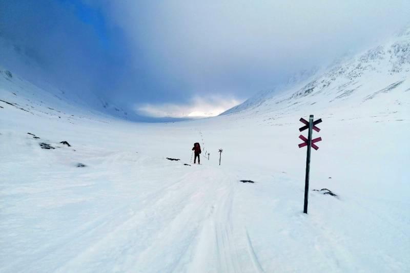 Laponia 2021. Relacja z wyprawy na północ Szwecji na biegówkach i nartach backcountry
