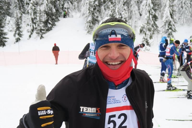Roman Majka Wicemistrzem Polski amatorów w biathlonie