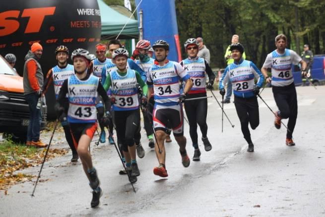 Marcelina Wojtyła i Wojciech Wojtyła wygrywają Beskidzki Triatlon Górski w Ustroniu