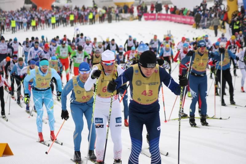 Start do biegu na 50 km w 2019 roku.