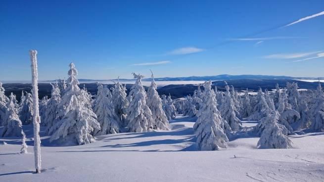 Takie widoki czekają w Górach Orlickich na narciarzy biegowych