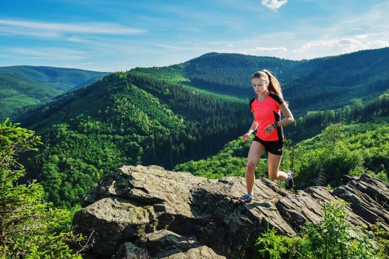 "Na trasie ultramaratonu ""Zapomenuté hory 2017"""