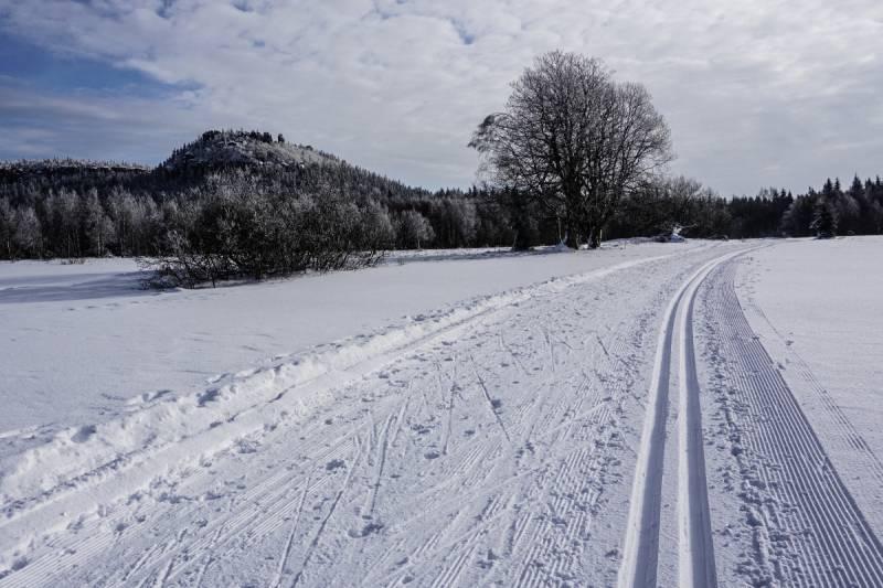 Tak w ostatnich dniach było na trasach biegowych w Górach Stołowych