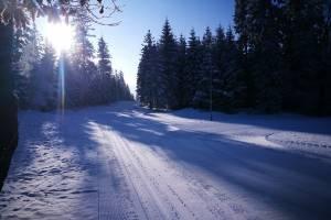 Zimowo i pięknie jest w Górach Bystrzyckich