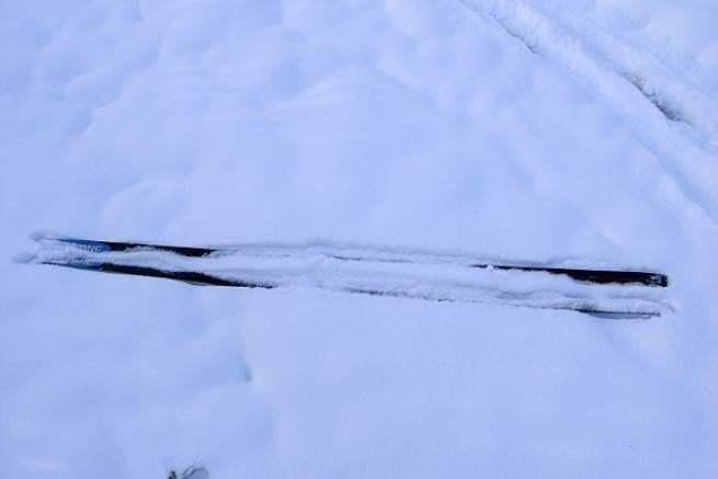 Śnieg na Polanie Jakuszyckiej
