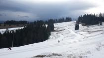 Białka Tatrzańska zachęca przygotowanymi trasami i świeżym opadem śniegu.