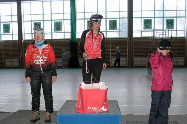 Wiesława Zagaja na najwyższym stopniu podium podczas BUM 2012