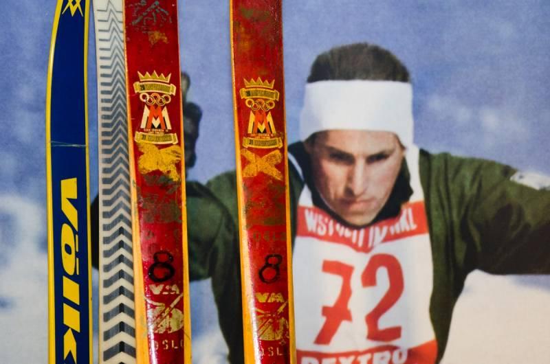 Walter Demel i jego narty