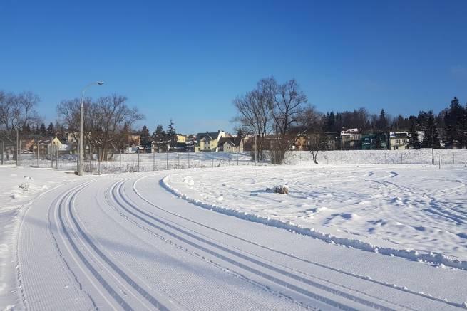 W Nowym Targu najlepsze warunki utrzymują się stadionie obok Miejskiej Hali Lodowej