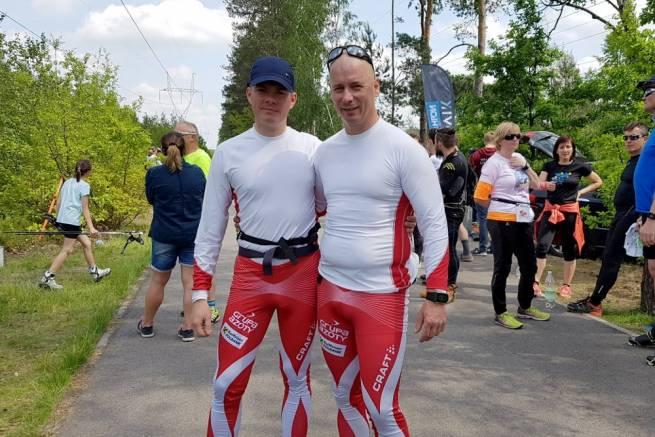 Zwycięska para w rywalizacji męskiej Team Sprintów
