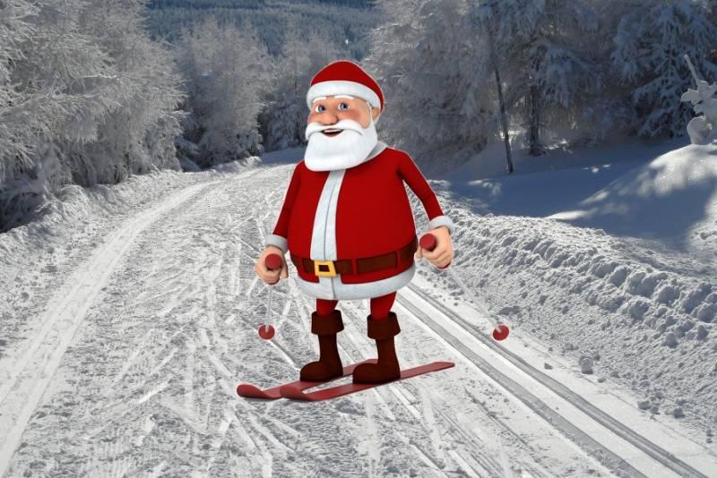 Czy św. Mikołaj też jest narciarzem biegowym?