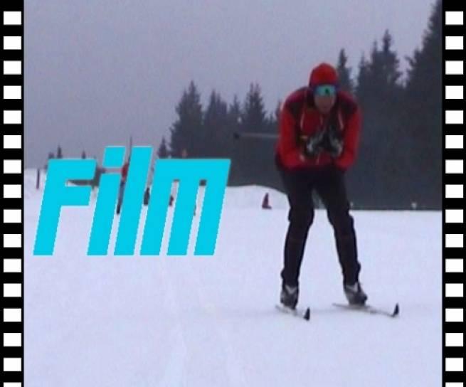 Wirtualny kurs narciarstwa biegowego (odc. 6) - styl klasyczny - zmiana kierunku jazdy przez odłyżwowanie oraz wyjście z toru - FILM