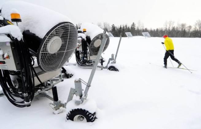 Koniec problemów ze śniegiem - Jakuszyce dostaną armatki śnieżne napędzane przez biegaczy
