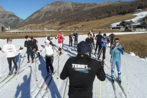Team nabiegowkach.pl wzorem zawodników z elity przed sezonem trenował na śniegu w Livigno