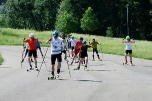 Trenowali tam Smutná, Koukalová i Řezáč, trenował też team nabiegowkach.pl