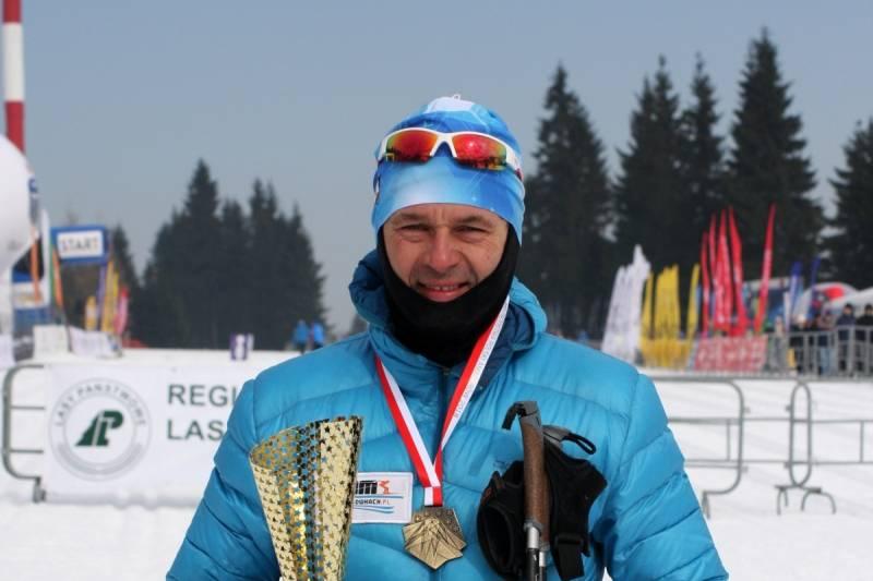 Grzegorz Legierski - Mistrz Polski Amatorów na 50 km CT w 2018 roku