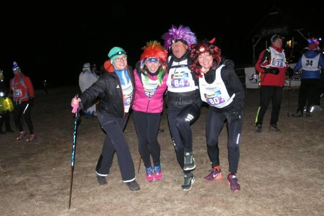 Nowy Rok 2016 powitał śniegiem uczestników Biegu Sylwestrowego
