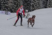 Brąz dla Polki na Mistrzostwach Europy w bieganiu na nartach... z psem