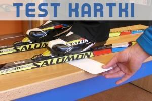 Test kartki - czyli jak dobrać sztywność narty i wyznaczyć strefę smarowania na odbicie